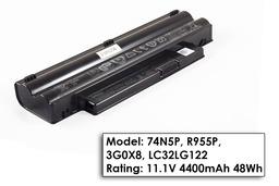 Dell Inspiron mini Mini 1018 laptop akkumulátor, gyári új, 6 cellás (4400mAh)