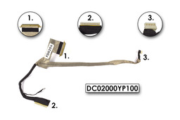 Dell Inspiron Mini 1012, 1018 laptopokhoz használt LCD átvezető kábel (DC02000YP10)