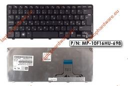 Dell Inspiron Mini Duo 1090 gyári használt magyar fekete laptop billentyűzet (08W9K0)