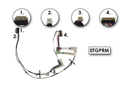 Dell Inspiron Mini Duo 1090 laptophoz gyári új LCD- és webkamera kábel, 0TGPRM