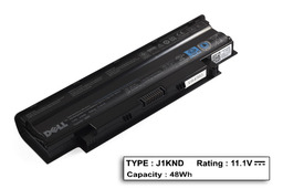 Dell Inspiron N5110 laptop akkumulátor, gyári új, 6 cellás (4000mAh)