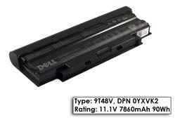 Dell Inspiron N3010, N5010, N7010 gyári új 9 cellás laptop akku/akkumulátor (TYPE 9T48V, DPN 0YXVK2)