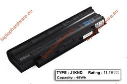Dell Inspiron N3010, N5010, N7010 használt 80%-os 6 cellás laptop akku/akkumulátor (J1KND)