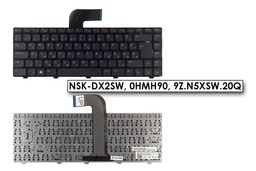 Dell Inspiron N5040, N5050, Vostro 3450, 3460 gyári új magyar laptop billentyűzet (0HMH90)