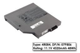Dell Latitude D630 laptop akkumulátor, gyári új, 6 cellás (4320mAh)
