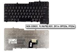 Dell Latitude D520, D530 használt US angol laptop billentyűzet (PF236)