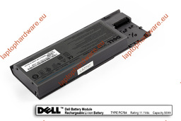 Dell Latitude D620, D630, D631 használt 50%-os, 6 cellás laptop akku/akkumulátor (PC764)