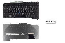 Dell Latitude D620, D630 használt US angol, magyarított laptop billentyűzet (0UP826)