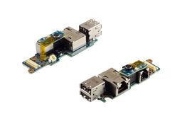 Dell Latitude D620, D630 laptophoz használt USB/LAN panel (1368398-2)