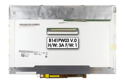 Dell Latitude D620, D630 WXGA+ 1440*900 CCFL matt  laptop kijelző, B141PW03, 0GR584