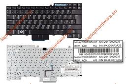 Dell Latitude E5400, E6400, E6410 használt magyar laptop billentyűzet (DP/N 0RX209)