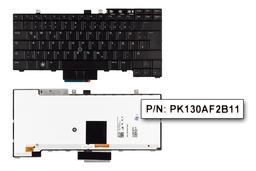 Dell Latitude E5400, E6400, E6410 használt német háttér-világításos laptop billentyűzet (0PJK4N)