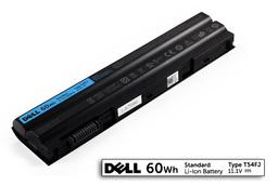 Dell Latitude E5420, E5520, E6420 gyári új 6 cellás 60Wh laptop akku/akkumulátor (TYPE T54FJ, DP/N NH6K9)