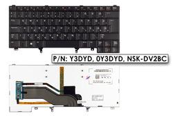 Dell Latitude E6320 fekete magyar laptop billentyűzet