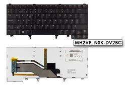 Dell Latitude E5430, E6420, E6430 gyári új svéd/finn háttér-világításos laptop billentyűzet (MH2VP)