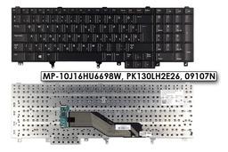 Dell Latitude E5520, E5530, E6520 gyári új magyar laptop billentyűzet, 09107N