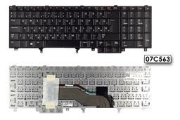Dell Precision M4600 fekete magyar laptop billentyűzet