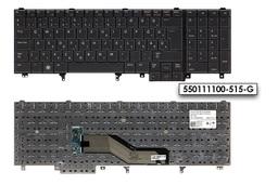 Dell Latitude E5520, E5530, E6520 gyári új magyar laptop billentyűzet (Win7) (0J6X2X)