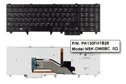 Dell Latitude E5520, E5530, E6520 gyári új magyar LED háttér-világításos laptop billentyűzet (Win7, 54R9H)