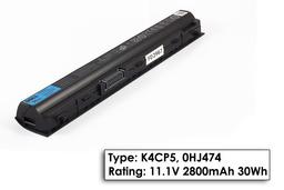 Dell Latitude E6120, E6220, E6320, E6330 Gyári új 3 cellás laptop akku/akkumulátor  Type K4CP5, 0HJ474