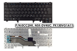 Dell Latitude E6320, E6420, E6430 gyári új német laptop billentyűzet (0CC2HK)