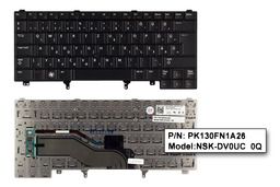 Dell Latitude E5430 fekete magyar laptop billentyűzet