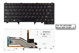 Dell Latitude E6320, E6330, E6420 használt US angol háttér-világításos laptop billentyűzet (0CN5HF)