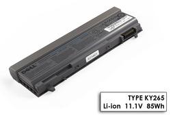 Dell Latitude E6410 laptop akkumulátor, gyári új, 9 cellás (7650mAh)