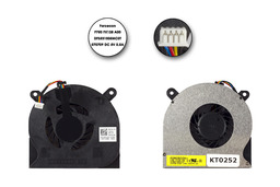Dell Latitude E6400, E6410, E6500, E6510 laptop hűtő ventilátor, DP/N FX128, DFS531005MC0T