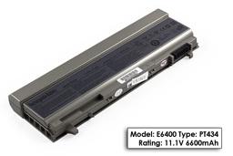 Dell Latitude E6410 laptop akkumulátor, új, gyárival megegyező minőségű helyettesítő, 9 cellás (6600mAh-7800mAh)