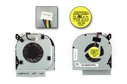 Dell Latitude E6410, E6510 használt laptop hűtő ventilátor (TCF42, DC280007RVL)