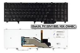 Dell Latitude E6540, Precision M4800, M6800 gyári új US angol LED háttér-világításos laptop billentyűzet (Win8, 0564JN)
