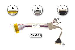 Dell Latitude X1 laptophoz használt kijelző kábel (0N6765)