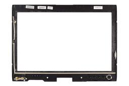 Dell Latitude XT laptophoz használt LED LCD keret ujjlenyomat olvasóval, CR836