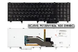 Dell LatitudeE6540, Precision M4800, M6800 gyári új magyar LED háttér-világításos laptop billentyűzet (Win8, 0CJ5V0)