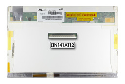 Gyári új fényes 14.1'' (1280x800) LED kijelző Dell Latutide E6400 laptopokhoz (csatlakozó: 12 pin BL + 30 pin SI jobb)