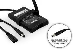 Dell PA-2E 19.5V 3.34A 65W gyári új laptop töltő (HA65NE1-00,TN800)