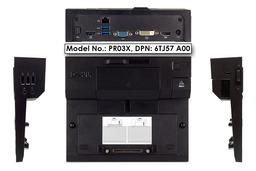 Dell PR03X Latitude E sorozathoz használt dokkoló, DP/N: 6TJ57