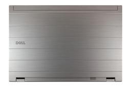 Dell Precision M4500 laptophoz használt ezüst LCD hátlap WiFi antennával és zsanér párral, 0G1XVM