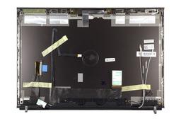 Dell Precision M4600 laptophoz használt ezüst LCD hátlap WiFi antennával és zsanér párral, 04TY54