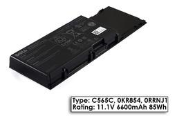 Dell Precision M6400, M6500 gyári új 9 cellás laptop akku/akkumulátor (TYPE C565C, DP/N 0KR854)