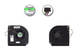 Dell Precision M6400, M6500 gyári új hűtő ventilátor, DP/N: W227F