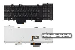Dell Precision M6500 fekete magyar laptop billentyűzet
