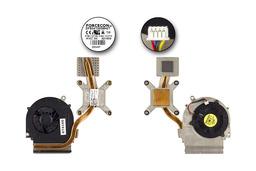 Dell Studio 1535, 1536, 1537 laptophoz használt komplett hűtőventilátor egység, 0M261C