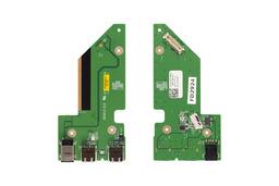 Dell Studio 1735, 1736, 1737 DC tápaljzat és USB panel, NU327