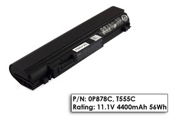 Dell Studio XPS 13, Studio XPS 1340 használt 50%-os 6 cellás laptop akku/akkumulátor (0P878C)