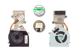 Dell Studio XPS 1340 használt komplett hűtő ventilátor egység (OU943D)