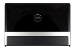 Dell Studio XPS 1640, 1645, 1647 laptophoz használt fekete LCD kijelző hátlap WiFi antennával, 083P75