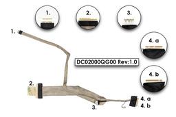 Dell Vostro 1310, 1320 laptophoz gyári új LCD kijelző és webkamera kábel (DC02000QG00)