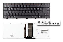 Dell Inspiron 15 N5050 fekete német  laptop billentyűzet